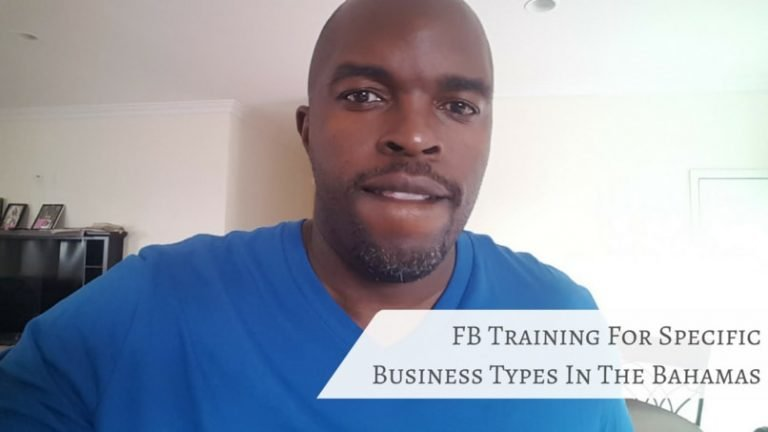 How are there STILL Bahamian Businesses without a Facebook Page?