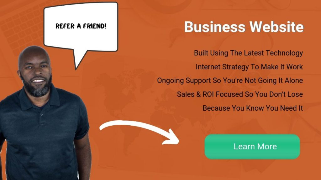 Online Marketing and Website Design for Bahamas Businesss. Refer a Friend