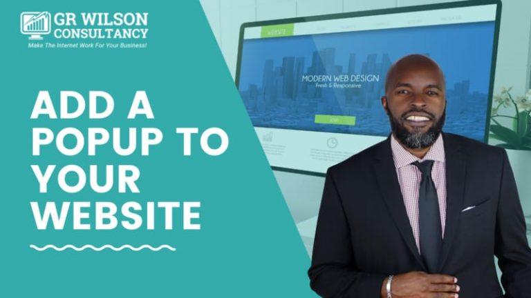 Increase conversions by adding a popup to your website