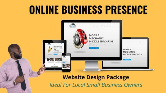 Business Website Design Package